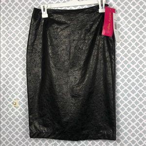 NEW Sunny Leigh Skirt Black Size 2